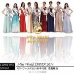 ミス・ワールド2014日本代表チーム10名による活動